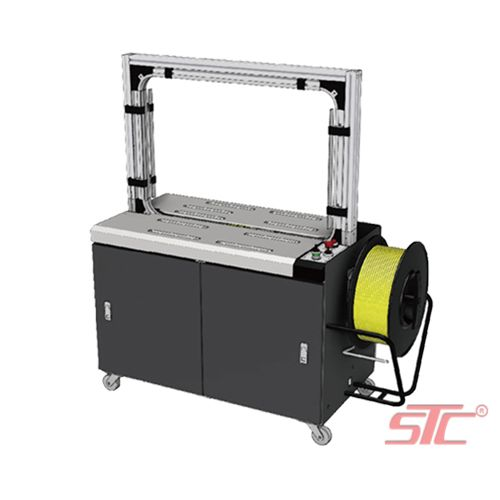 Automatic barrel belt wrapping machine PW-0860AC